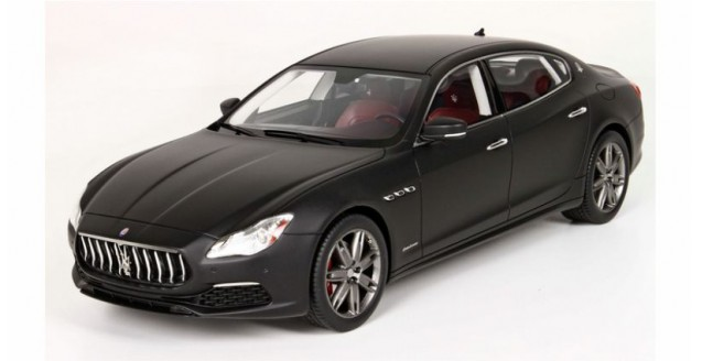 Maserati Quattroporte 2017 GranLusso Matt black 1:18  BBR Models BBRC1821DV