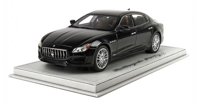 Maserati Quattroporte MY17 Gran Sport Black 1:18  BBR Models BBRC1822CV