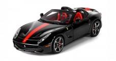 Ferrari F60 America Black Daytona Livery Red 1:43 BBR Models BBRC182H