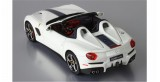 Ferrari F60 America white Avus Livery blue Nart 1:43 BBR Models BBRC182LPRE