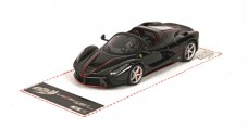 LaFerrari Aperta New black Daytona 1:43 BBR Models BBRC187AB