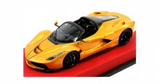 LaFerrari Aperta Spider 2016 Yellow Metallic 1:43 BBR Models BBRC187CAR08