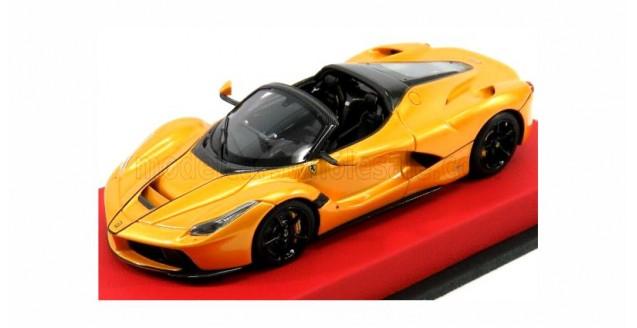 LaFerrari Aperta Spider 2016 Yellow Metallic 1:43 BBR Models BBRC187CAR08