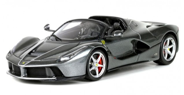 LaFerrari Aperta Metal Iron Grey 1:43 BBR Models BBRC187D