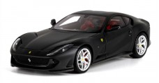Ferrari 812 Superfast Matt Black 1:43 BBR Models BBRC198MB1
