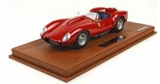 Ferrari 250 TR 1958 S/N 0286AM Street Red 1:18  BBR Models BLM1808B