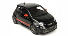 Fiat Abarth 595 2013 Black 1:18  BBR Models BLM1817C