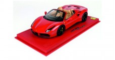 Ferrari 488 Spider 2015 Red 1:18  BBR Models P18120BV