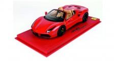Ferrari 488 Spider 2015 Red 1:18  BBR Models P18120BV