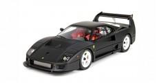 Ferrari F40 LM Matt Black With Case 1:18 BBR Models P18139MB
