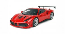 Ferrari 488 Challenge Red Corsa 322 with CASE 1:18  BBR Models P18146E