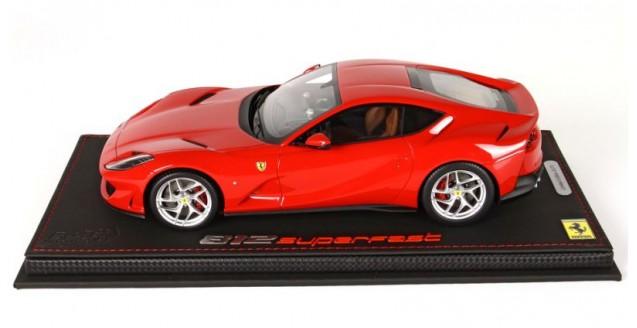 Bbr Models P18147rs Ferrari 812 Superfast 2017 Red 1 18