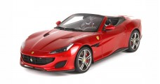 Ferrari Portofino Spider version Fire Red 1:18  BBR Models P18155RF