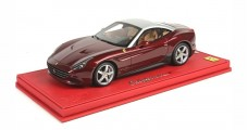 Ferrari California T Roof Closed Burgandy 1:18  BBR Models P1880VST1