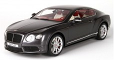 Bentley Continental GT V8 S Dark Grey Satin 1:18 BBR Models P1886C