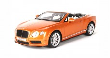 Bentley Continental GT V8 S Convertible Sunrise Orange 1:18 BBR Models P1887AV