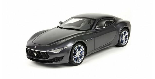 Maserati Alfieri 2014 Metallic Grey 1:18  BBR Models P1891