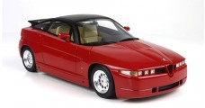 Alfa Romeo SZ Sprint Zagato Red 1:18 BBR Models TOP01A
