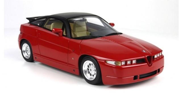 BBR Models TOPA Alfa Romeo SZ Sprint Zagato Red - Alfa romeo scale models