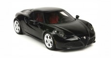 Alfa Romeo 4C Black 1:18 BBR Models TOP03MB
