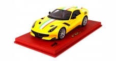 Ferrari F12 TdF Three Layered Yellow 1:18 BBR P18121IF
