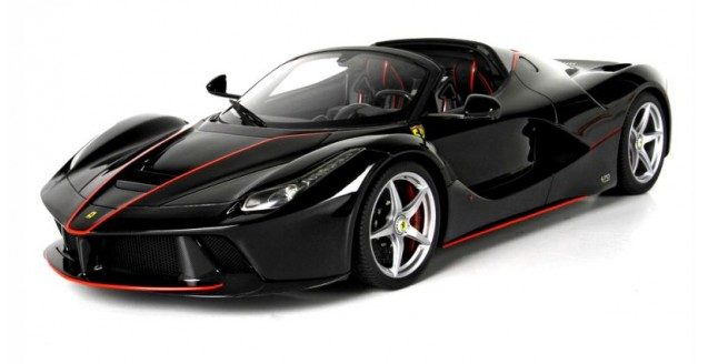 LaFerrari Aperta Black Daytona Red Corsa 112 BBR1209A