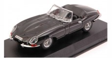 Jaguar E Spider 1964 Black 1:43 Best Models 9027/2N