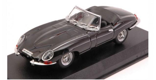 Jaguar E Spider 1964 Black 1:43 Best Models 9027/2N