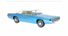 Ford Thunderbird Landaulet Blue / White 1:18 Scale BoS Models BOS229