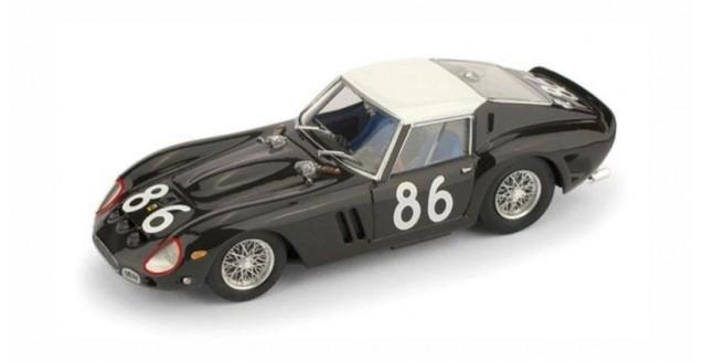 Ferrari 250 GTO 3451GT #86 Targa Florio 1962 Brown 1:43 Brumm R535