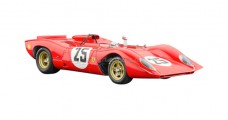 Ferrari 312p Spyder, Sebring #25 1969 Red 1:18 CMC M-095