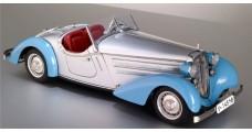 CMC Audi 225 Front Roadster 1935 (Silver / Blue ) 1:18 CMC M-075B