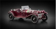 Alfa Romeo 6C 1750 GS Tazio Nuvolari Mille Miglia 1930 Red 1:18 CMC M-141