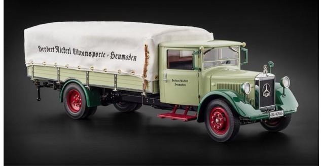 Cmc M 170 Mercedes Benz Lo 2750 Truck With Tarpaulin 1933 1936 1 18