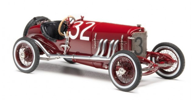 CMC Mercedes-Benz Targa Florio, 1924 #32 -with external gasoline Red 1:18 CMC M-187