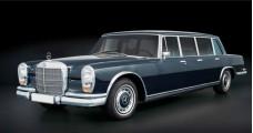 Mercedes-Benz 600 Pullman W100 Black 1:18 CMC M-200