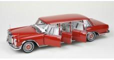 "CMC Mercedes-Benz 600 Pullman ""Red Baron"" 1:18 CMC M-216"