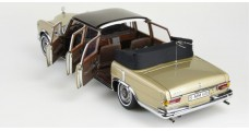 CMC Mercedes-Benz 600 Pullman Landaulet two-tone finish beige/brown with fixed softtop 1:18 CMC M-217