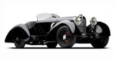 "CMC Mercedes-Benz SSK ""Black Prince"" 1934 1:18 CMC M-225"