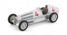 Mercedes W25 #4 Monaco 1935 Fagioli Silver 1:18 CMC M-104