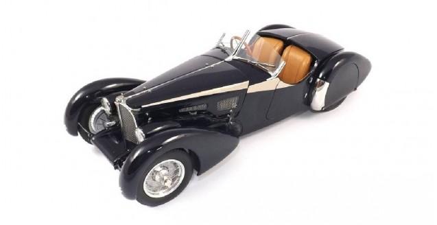 Bugatti 57 SC Corsica 1938 Roadster Blue 1:18 CMC M-106