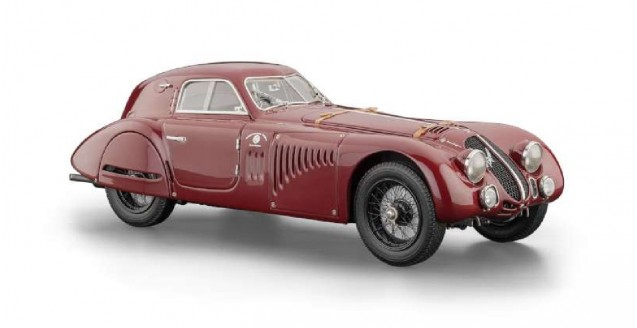 Alfa Romeo 8C 2900B Special Touring Coupe Red 1:18 CMC M107