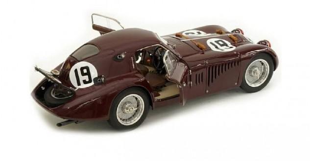 1938 ALFA ROMEO 8C 2900 B LE MANS #19 1//18 DIECAST MODEL CAR BY CMC 111