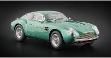 Aston Martin DB4 GT Zagato 1961 Green 1:18 CMC M-132