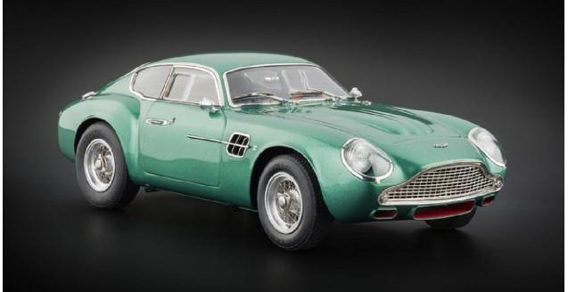 Aston Martin DB4 GT Zagato 1961 Green 1:18 CMC M132