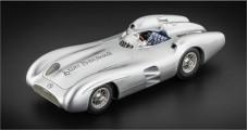 Mercedes Benz W196R Herrmann Signature WSL Silver 1:18 CMC M137