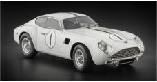 Aston Martin DB4 GT Zagato no1 LM61 1961 White 1:18 CMC M-139