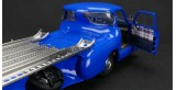 "Mercedes-Benz Racing Car Transporter ""The blue Wonder"" 1954/55 REVISED EDITION Blue 1:18 CMC M-143"