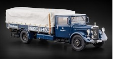 CMC Mercedes-Benz Racing Car Transporter LO 2750 1934-1938 Blue 1:18 CMC M-144