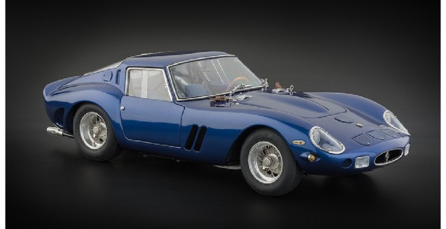 Ferrari 250 GTO 1962 Blue 1:18 CMC M152